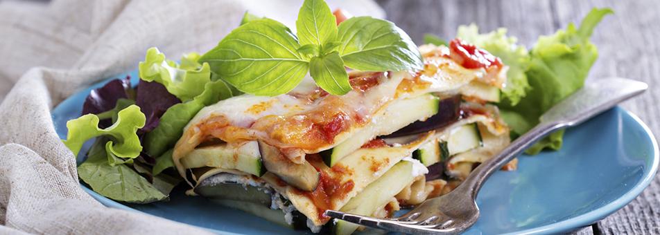 Lasagna vegana con Cuisine de Arroz