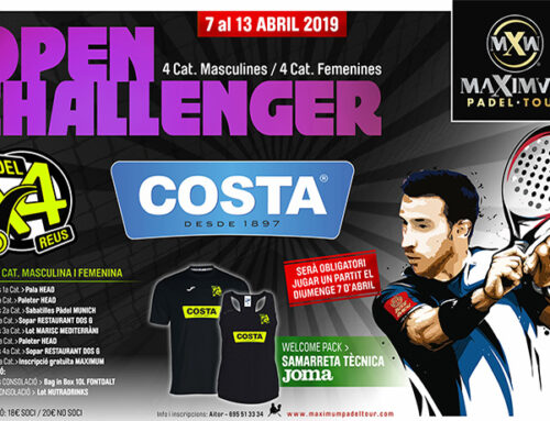 Costa en el Maximum Padel Tour