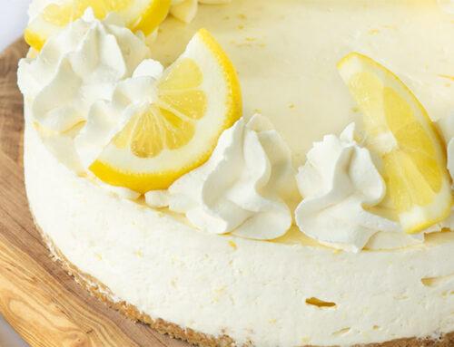 Tarta de Horchata y Limón